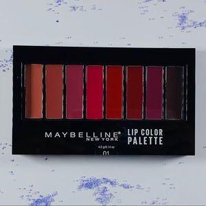 Maybelline NY Lip Color Pallet
